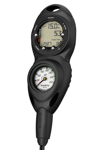Suunto CB-Two in line/300/Zoop Novo Black Combo