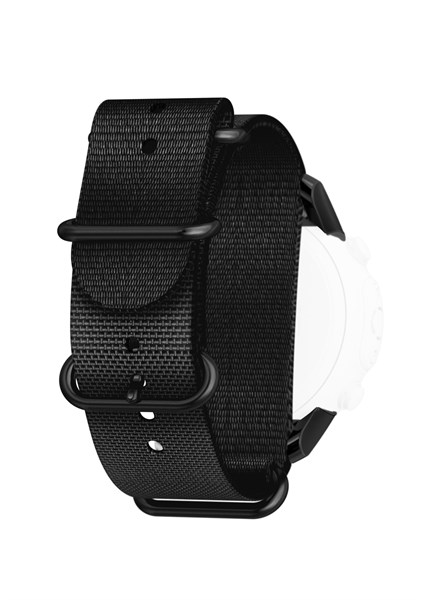 Suunto Strap Kit D6i Novo Black Zulu with Adaptor