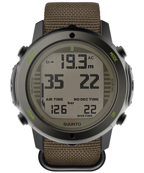 Suunto D6i Novo Stealth Zulu with USB