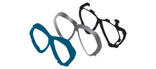 Tusa Paragon M2001 duikbril Tri-mix frame