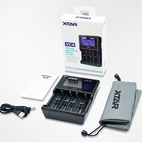 Xtar VC-4 oplader