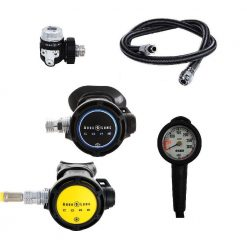 Aqua Lung Core Supreme ACD DIN set + ESM manometer