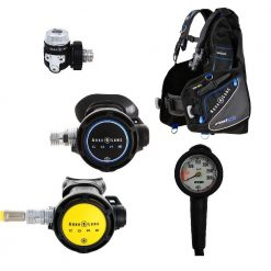 Aqua Lung Core Supreme set + Pro HD BCD XL + ESM 400 bar