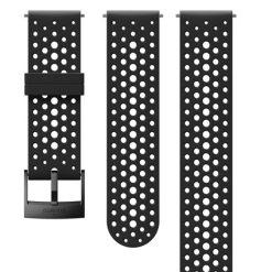 Suunto D5 Strap 24mm Athletic 1 Silicone Strap Kit D5 Black S+M