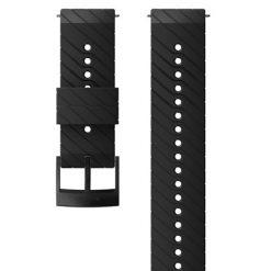 Suunto D5 Strap 24mm Athletic 3 Silicone Strap Kit D5 Black/Steel M