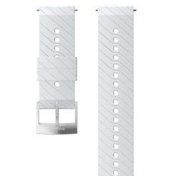 Suunto D5 Strap 24mm Athletic 3 Silicone Strap Kit D5 White/Steel M
