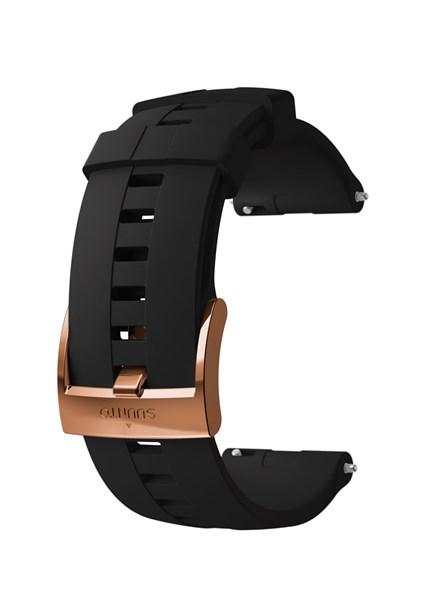 Suunto D5 Strap 24mm Athletic 4 Silicone Strap Kit D5 Black/Copper M
