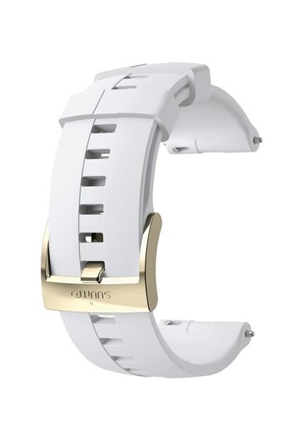 Suunto D5 Strap 24mm Athletic 4 Silicone Strap Kit D5 White/Gold M