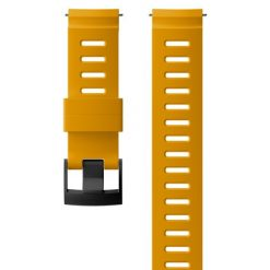 Suunto D5 Strap 24mm Dive 1 Silicone Strap Kit D5 Amber/Black M