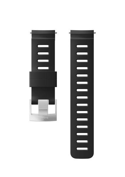 Suunto D5 Strap 24mm Dive 1 Silicone Strap Kit D5 Black/Steel M