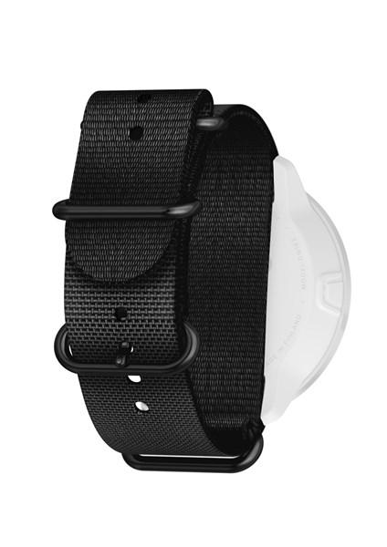 Suunto D5 Strap 24mm Dive 2 Textile Zulu Strap Kit D5 Black L