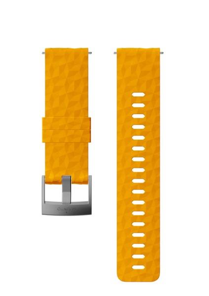 Suunto D5 Strap 24mm Explore 1 Silicone Strap Kit D5 Amber/Gray M