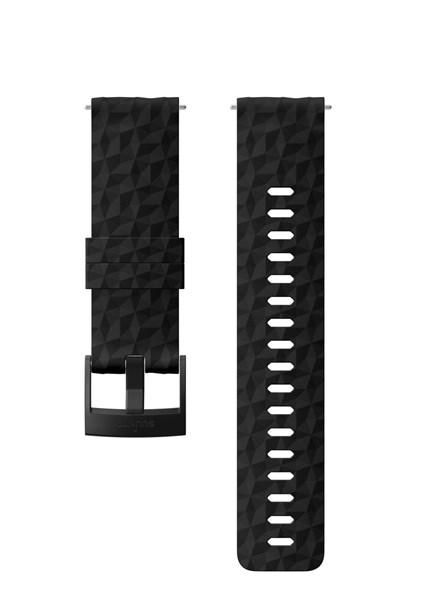 Suunto D5 Strap 24mm Explore 1 Silicone Strap Kit D5 Black M