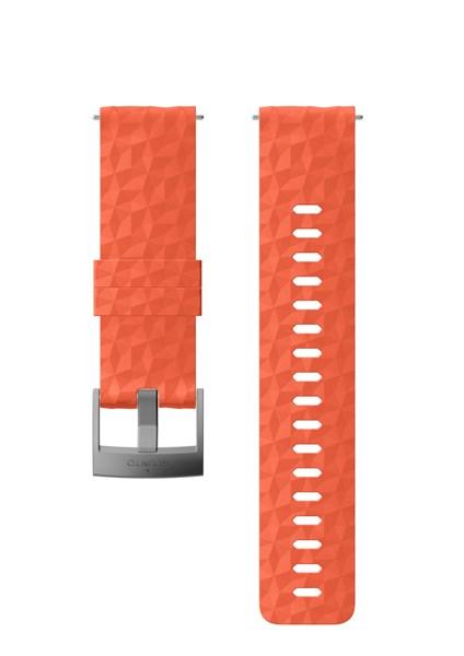 Suunto D5 Strap 24mm Explore 1 Silicone Strap Kit D5 Coral/Gray M