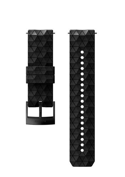 Suunto D5 Strap 24mm Explore 2 Silicone Strap Kit D5 Black M