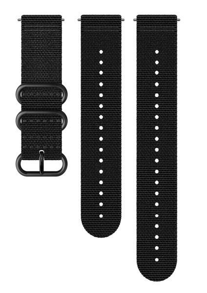 Suunto D5 Strap 24mm Explore 2 Textile Strap Kit D5 Black M+L