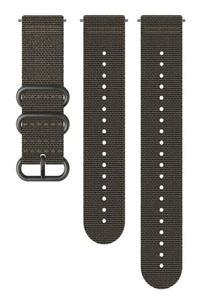 Suunto D5 Strap 24mm Explore 2 Textile Strap Kit D5 Foliage/Gray M+L