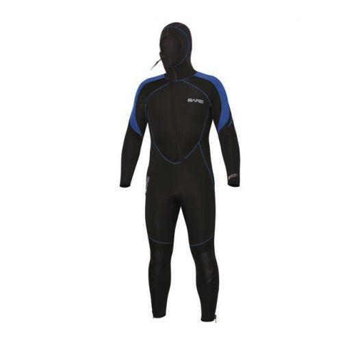 Bare 7mm Sport S-Flex Hooded Full Blue Men