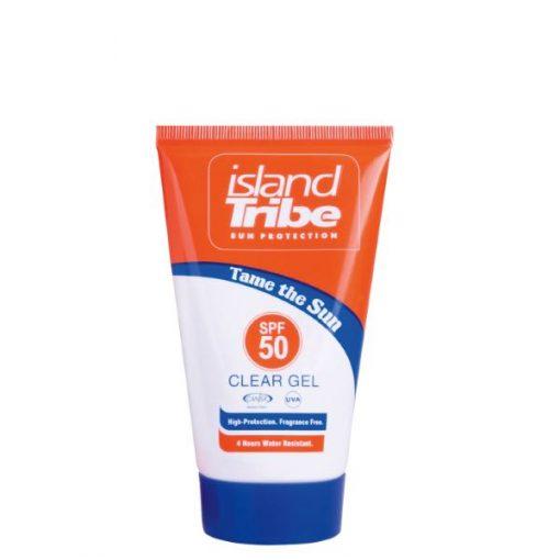 island Tribe SPF 50 clear gel 50ml
